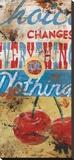 Everything Or Nothing Leinwand von Rodney White