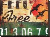 Feel Free Leinwand von Rodney White