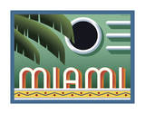 Miami Reproduction proc&#233;d&#233; gicl&#233;e par Steve Forney