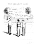 The Sensitive Child' - Cartoon Regular Giclee Print by Roz Chast