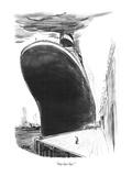"""Say bye-bye."" - New Yorker Cartoon Premium Giclee Print by Robert Weber"