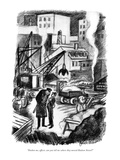 """Pardon me, officer, can you tell me where they moved Hudson Street"" - New Yorker Cartoon Premium Giclee Print by Jack Markow"