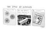The Style of Elements - Cartoon Regular Giclee Print by Roz Chast