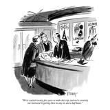 """We've waited twenty-five years to make this trip, and we're certainly not…"" - New Yorker Cartoon Premium Giclee Print by Barney Tobey"