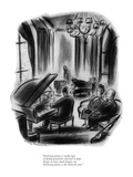 """Steinway piano is really tops, A dandy grand for classical or pops. Keeps…"" - New Yorker Cartoon Premium Giclee Print by Jr., Whitney Darrow"