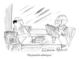 """They found the nebbish gene."" - New Yorker Cartoon Premium Giclee Print by Victoria Roberts"