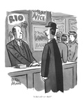 """Is Bali still—er—Bali"" - New Yorker Cartoon Premium Giclee Print by Peter Arno"