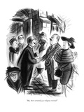 """""""My, there certainly is a religious revival!"""" - New Yorker Cartoon Giclee Print by Jr., Whitney Darrow"""