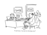 """I don't know. I was just in a borrowing mood."" - New Yorker Cartoon Premium Giclee Print by Dean Vietor"