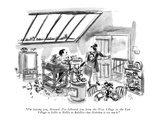 """I'm leaving you, Howard. I've followed you from the West Village to the E…"" - New Yorker Cartoon Premium Giclee Print by Everett Opie"