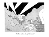 """Indian casino. I'd say Comanche."" - New Yorker Cartoon Premium Giclee Print by Gahan Wilson"