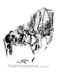 """Then his father paid me ten thousand dollars never to see him again. It s…"" - New Yorker Cartoon Premium Giclee Print by Mary Petty"