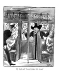 """By God, suh! I won't fohget this insult!"" - New Yorker Cartoon Premium Giclee Print by Peter Arno"