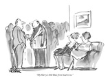 """My Harry is Bill Blass from head to toe."" - New Yorker Cartoon Premium Giclee Print by Robert Weber"