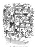 """Personally, I never take anything but aspirin."" - New Yorker Cartoon Premium Giclee Print by Joseph Farris"