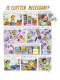 Is Clutter Necessary' - Cartoon Regular Giclee Print by Roz Chast