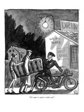 """We want to report a stolen car."" - New Yorker Cartoon Premium Giclee Print by Peter Arno"