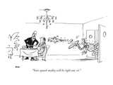"""Your squash medley will be right out, sir."" - New Yorker Cartoon Premium Giclee Print by George Booth"