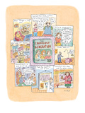 A book entitled 'The Crummiest Generation. . .  That's Right:  YOU.' is su… - New Yorker Cartoon Giclee Print by Roz Chast