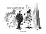 """You look great."" - New Yorker Cartoon Premium Giclee Print by Robert Weber"