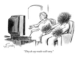 """They do say results will vary."" - New Yorker Cartoon Premium Giclee Print by Mike Twohy"
