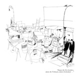 """Damn the Uris brothers, damn the Tishmans, damn Zeckendorf . . ."" - New Yorker Cartoon Premium Giclee Print by James Stevenson"