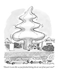 """Doesn't it seem like we just finished letting the air out of last year's …"" - New Yorker Cartoon Premium Giclee Print by Mike Twohy"