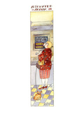 Automated Teller - New Yorker Cartoon Premium Giclee Print by Victoria Roberts