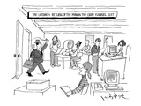 The Untimely Return Of the Man In 'The Gray Flannel Suit' - New Yorker Cartoon Premium Giclee Print by W.B. Park