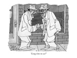 """Long time no see!"" - New Yorker Cartoon Premium Giclee Print by Gahan Wilson"