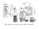 """You rarely see this kind of joy for under ten thousand."" - New Yorker Cartoon Premium Giclee Print by Mike Twohy"