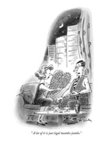 """"""" A lot of it is just legal mumbo-jumbo."""" - New Yorker Cartoon Premium Giclee Print by Mike Twohy"""