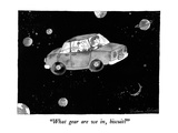 """What gear are we in, biscuit"" - New Yorker Cartoon Premium Giclee Print by Victoria Roberts"