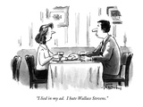 """""""I lied in my ad.  I hate Wallace Stevens."""" - New Yorker Cartoon Premium Giclee Print by Mike Twohy"""