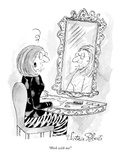 """Work with me!"" - New Yorker Cartoon Premium Giclee Print by Victoria Roberts"