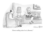 """I know mulling when I see it, Ramona."" - New Yorker Cartoon Premium Giclee Print by Victoria Roberts"