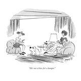"""He's not a biter, he's a humper."" - New Yorker Cartoon Premium Giclee Print by Peter Porges"