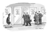 Bureaus of Dangerous Stuff etc. - New Yorker Cartoon Premium Giclee Print by M.K. Brown