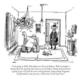 """I am going to SoHo. My doshas are all out of balance. Well, my kapha is h…"" - New Yorker Cartoon Premium Giclee Print by George Booth"