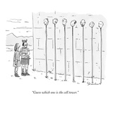 """Guess which one is the cell tower."" - New Yorker Cartoon Premium Giclee Print by Danny Shanahan"