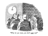 """What do you mean, you don't want any!"" - New Yorker Cartoon Premium Giclee Print by Jack Ziegler"