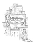 New York Therapy Clock - New Yorker Cartoon Premium Giclee Print by Victoria Roberts