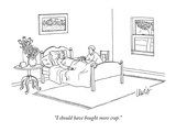 """I should have bought more crap."" - New Yorker Cartoon Premium Giclee Print by Eric Lewis"