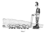 """Mush."" - New Yorker Cartoon Premium Giclee Print by Steve Duenes"