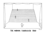 The Mormon Tabernacle Trio - New Yorker Cartoon Premium Giclee Print by Simon Bond