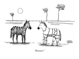 """Bummer."" - New Yorker Cartoon Premium Giclee Print by Steve Duenes"