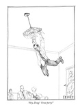 """Hey, Doug!  Great party!"" - New Yorker Cartoon Premium Giclee Print by Matthew Diffee"