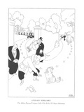Literary Renegades-The Albert Payson Terhune Collie Who Failed To Stop a R… - New Yorker Cartoon Premium Giclee Print by Gluyas Williams