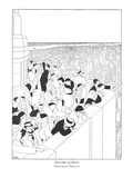 Fellow Citizens-Observation Platform - New Yorker Cartoon Premium Giclee Print by Gluyas Williams
