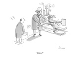 """Rolex"" - New Yorker Cartoon Premium Giclee Print by Zachary Kanin"